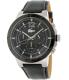 Lacoste Men's Darwin 2010743 Antique Black Leather Quartz Watch - Main Image Swatch