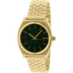 Nixon Men's Time Teller A0451919 Gold Stainless-Steel Quartz Watch