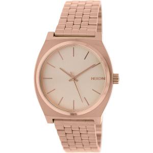 Nixon Men's Time Teller A045897 Rose Gold Stainless-Steel Quartz Watch