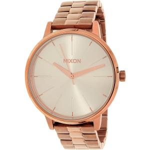 Nixon Women's Kensington A0991045 Rose Gold Stainless-Steel Quartz Watch