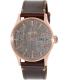 Nixon Men's Sentry A1052001 Brown Leather Quartz Watch - Main Image Swatch