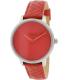 Nixon Women's Kensington A1081744 Dark Red Leather Quartz Watch - Main Image Swatch