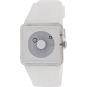 Nixon Men's Newton A1161779 White Rubber Quartz Watch