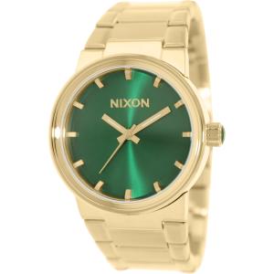 Nixon Men's Cannon A1601919 Gold Stainless-Steel Quartz Watch