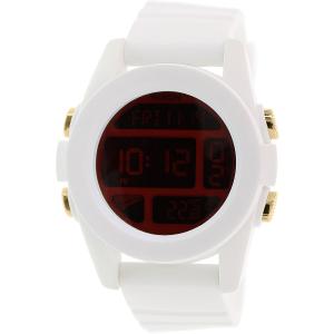 Nixon Men's Unit A1971802 White Rubber Quartz Watch