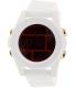 Nixon Men's Unit A1971802 White Rubber Quartz Watch - Main Image Swatch