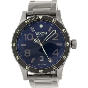 Nixon Men's Diplomat A2771885 Gunmetal Stainless-Steel Quartz Watch