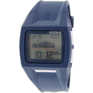 Nixon Men's Lodown A289307 Blue Silicone Quartz Watch