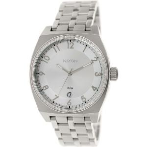 Nixon Women's Monopoly A3251874 Silver Stainless-Steel Quartz Watch