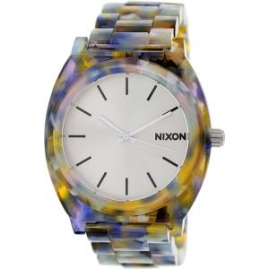 Nixon Women's Time Teller A3271116 Multicolor Plastic Analog Quartz Watch