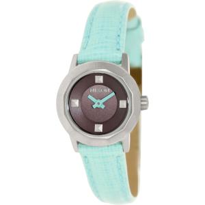Nixon Women's Mini B A338302 Green Leather Quartz Watch