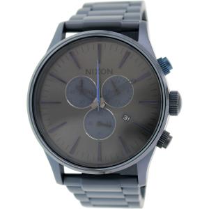 Nixon Men's Sentry A3861679 Blue Stainless-Steel Quartz Watch