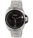 Nixon Men's Anthem A396000 Silver Stainless-Steel Swiss Quartz Watch - Main Image Swatch