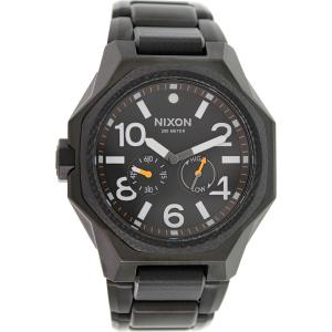 Nixon Men's Tangent A397001 Black Stainless-Steel Swiss Quartz Watch