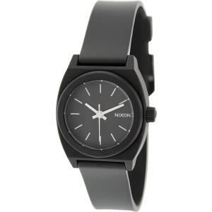 Nixon Women's Time Teller A425000 Black Plastic Quartz Watch