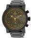 Nixon Men's Magnacon A4571354 Black Stainless-Steel Swiss Quartz Watch - Main Image Swatch