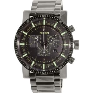 Nixon Men's Magnacon A4571885 Grey Stainless-Steel Swiss Quartz Watch