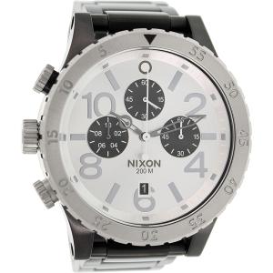Nixon Men's 48-20 A486180 Black Stainless-Steel Quartz Watch