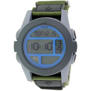 Nixon Men's Baja A4891376 Digital Nylon Quartz Watch