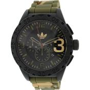 Adidas Men's Newburgh ADH2913 Black Rubber Quartz Watch