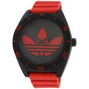 Adidas Men's Santiago ADH2969 Red Rubber Quartz Watch