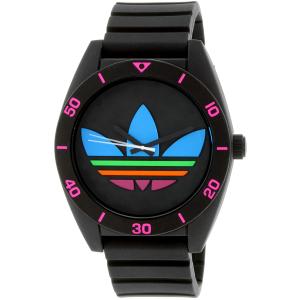 Adidas Men's Santiago ADH2970 Black Silicone Quartz Watch