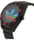 Adidas Men's Santiago ADH2970 Black Silicone Quartz Watch - Side Image Swatch