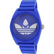 Adidas Men's ADH6169 Blue Rubber Quartz Watch