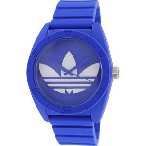 Adidas Men's Santiago ADH6169 Blue Rubber Quartz Watch