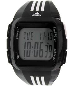 Adidas Women's Duramo ADP6089 Black Silicone Quartz Watch