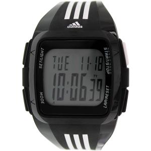Adidas Men's Duramo ADP6089 Black Silicone Quartz Watch