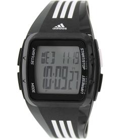Adidas Men's Duramo ADP6093 Black Rubber Quartz Watch