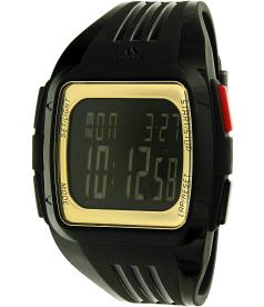 Adidas Men's Duramo ADP6135 Black Rubber Quartz Watch