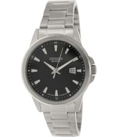 Citizen Men's BI1010-51E Black Stainless-Steel Quartz Watch