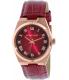Michael Kors Women's Channing MK2357 Lipstick Red Leather Quartz Watch - Main Image Swatch