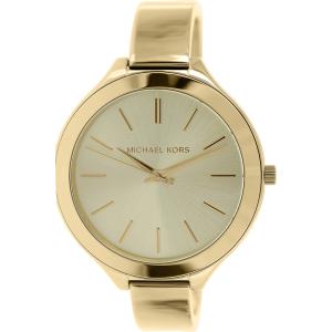 Michael Kors Women's Runway MK3275 Antique Gold Stainless-Steel Quartz Watch