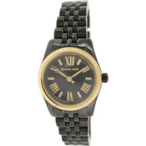 Michael Kors Women's Lexington MK3299 Black Ceramic Quartz Watch