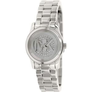 Michael Kors Women's Runway MK3303 Silver Stainless-Steel Quartz Watch