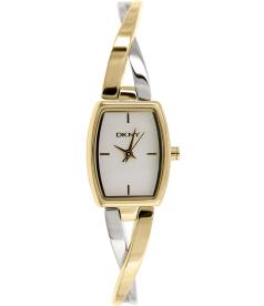 Dkny Women's Crosswalk NY2235 White Stainless-Steel Analog Quartz Watch
