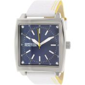 Kenneth Cole Reaction Men's RK1426 White Leather Quartz Watch