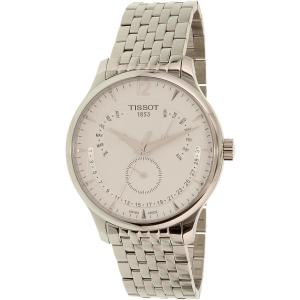 Tissot Men's Tradition T063.637.11.037.00 Silver Stainless-Steel Swiss Quartz Watch