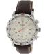 Timex Men's Intelligent Quartz T2P287 White Leather Quartz Watch - Main Image Swatch
