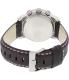 Timex Men's Intelligent Quartz T2P287 White Leather Quartz Watch - Back Image Swatch