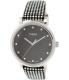 Timex Women's Originals T2P481 Black Leather Quartz Watch - Main Image Swatch