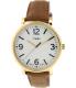 Timex Men's Originals T2P527 Brown Leather Analog Quartz Watch - Main Image Swatch