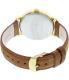 Timex Men's Originals T2P527 Brown Leather Analog Quartz Watch - Back Image Swatch