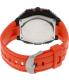 Timex Men's Expedition T49984 Orange Rubber Quartz Watch - Back Image Swatch