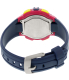 Timex Women's Rugged T5K813 Blue Rubber Quartz Watch - Back Image Swatch