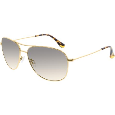 Maui Jim Men's Gradient Cliff House HS247-16 Gold Aviator Sunglasses