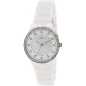 Oceanaut Women's Ceramic OC6210 White Ceramic Quartz Watch